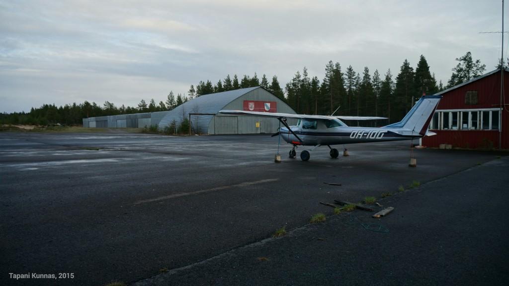 Pattijoen lentokenttä.