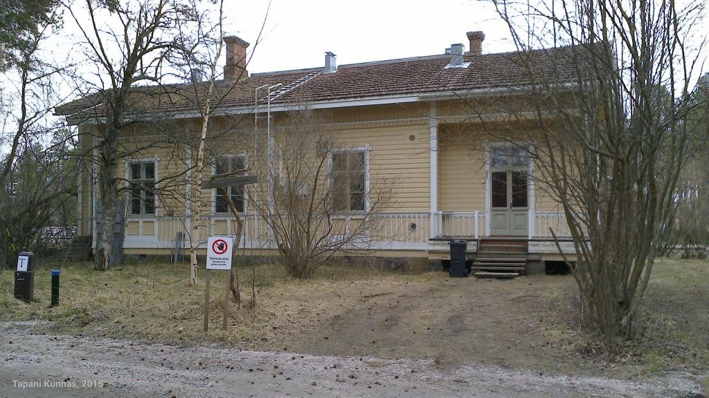 Kempeleen rautatieasema.