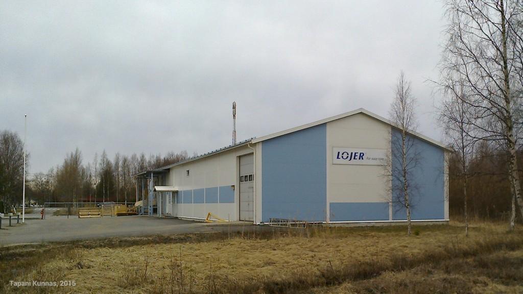 Sairaalasänkytehdas Kempeleessä.