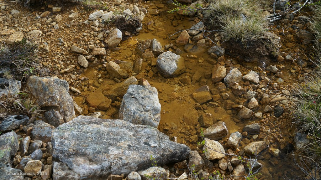 Kelpaa leiriytyä, kun vierestä löytyy puhdasta vettä.