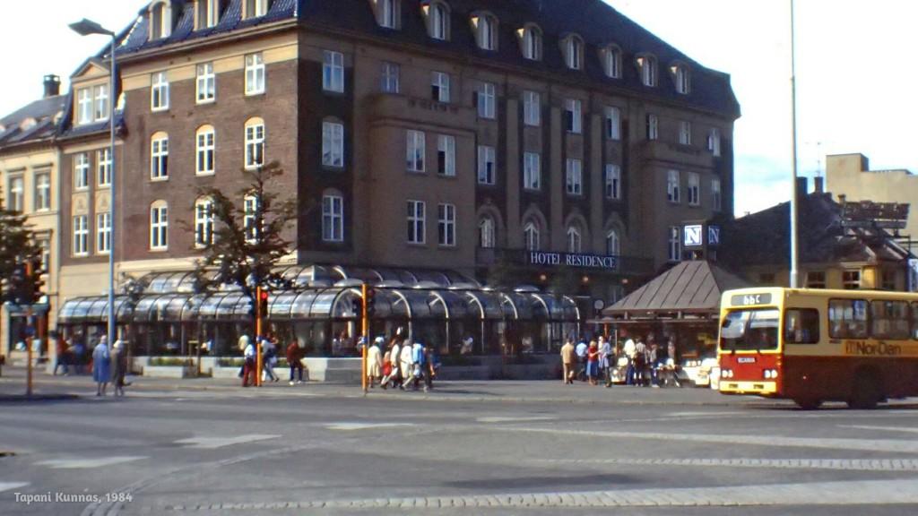 Leivoskahvipaikkani Trondheimissa.