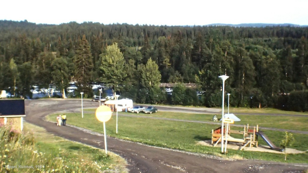 Hollantilainen leirintäalue. Paikka siis Hålland Ruotsissa.