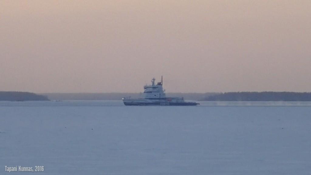 Kontio saapuu Ouluun.
